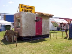 Click the picture for more on the Demonstration Strawbale house
